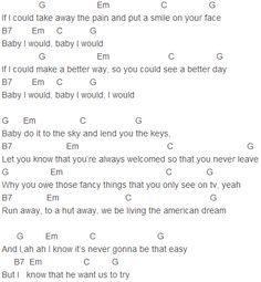 Baby justin bieber guitar chords