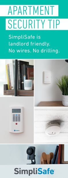 SimpliSafe was built with renters in mind. It won't damage your walls. You can take it with you when you move. And there are no long-term contracts.