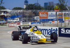 Keke Rosberg Williams - Honda 1984