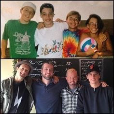 23 years of friendship. The only thing that's changed is the camera.Jason Mraz
