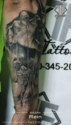 puppet tattoo