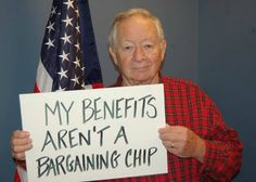 "Did you know benefits are at risk for seniors and veterans? Tell Congress to say no to Social Security cuts through a ""chained CPI, and find out what you or your loved ones could lose."