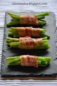 Judías verdes con bacon