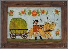 Dušan Benický -  Slovakia Folk Art, Glass, Illustration, Pictures, Paintings, Image, Blue Prints, Photos, Popular Art