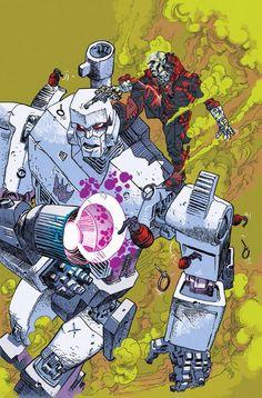 Transformers vs. G.I. Joe #17 - Megatron vs. Destro by Artyom Trakhanov *