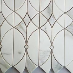 """19 Likes, 2 Comments - Tilebuys.com (@tilebuys) on Instagram: """"Italian Calacatta Gold Marble & Mother Of Pearl Luxury Waterjet Mosaic tile. Contact@tilebuys.com…"""""""