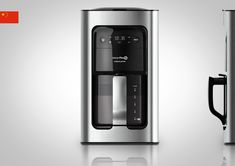 Drip Coffee Maker by Joaquin Herlein, via Behance Coffee Machine Design, Best Drip Coffee Maker, Juice Maker, Cafetiere, Medical Design, Class Design, Electrical Appliances, Industrial Design, Household