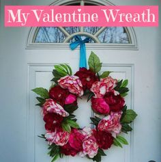 my valentine wreath