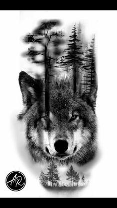 Wolf # # # # - Land of Tattoos Wolf Tattoos, Native Tattoos, Animal Tattoos, Girl Tattoos, Wolf Tattoo Design, Forearm Tattoo Design, Trendy Tattoos, Cute Tattoos, Body Art Tattoos