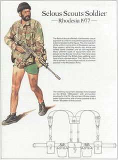 Rhodesia: The Ultimate Photographic Resource! - Page 2 - The FAL Files Military Gear, Military History, Military Weapons, Military Uniforms, Military Special Forces, Chest Rig, Modern Warfare, Cold War, Armed Forces