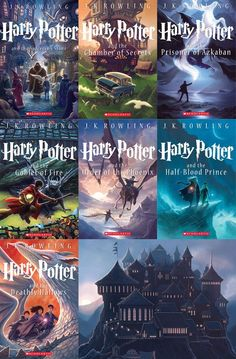 I'm super late on the Harry Potter train, but better extremely late than never. This series is perfect in every way and I'm so happy to live in a world with this book series. Harry Potter will be my #1 favorite forever.: