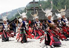 Guizhou , is rich in natural wonders and ethnic minority cultures. The many different ethnic minority groups living in Guizhou has kept their ancient traditions alive and has remained relatively untouched by the modern world.