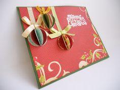 Labores y Miniaturas de María y Mª Conchi: Más tarjetas de Navidad