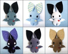 bat stuffed animal cute - Google Search