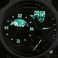 Wavelengths And Quantum Mechanics? How The A. Lange & Söhne Grande Lange 1 Moonphase Lumen Gets Its Special Shine | Quill & Pad