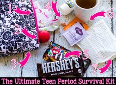 The Ultimate Teen Period Survival Kit #fittoplay #ad #collectivebias