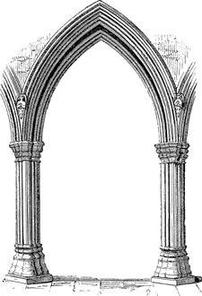 Pointed Arch Free DictionaryGothic Architecture3d