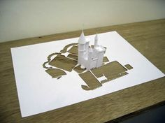 Amazing!!!  Done with one piece of paper.