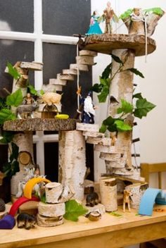 Diy tree house as a gift for the kid