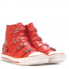 New in: ASH Virgin trainers coral leather