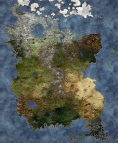 Fantasy World Map, Fantasy Places, Dnd Table, Fantasy Setting, Medieval Fantasy, Fantasy Landscape, Fantasy Artwork, Cartography, Dungeons And Dragons