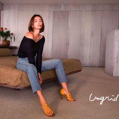 長谷川潤が18年春夏もアングリッドのイメージモデルに、コンセプトは「as it is」 | ファッション