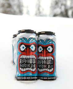 """This mythological beer emerges from the depths of our brewery every winter. Made with Cascade, Centennial and Chinook hops and six organic malts. """"A-Bomb"""" has a complex floral, spicy and citrus hop..."""