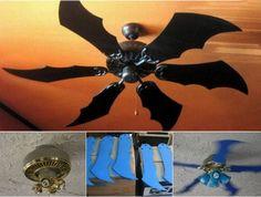 Batman Bat Fan - ceiling fan with Bat Blades
