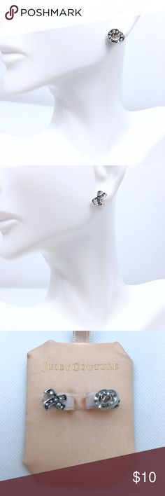 Juicy Couture Mini Studs Earrings Cute Mini Studs earrings. XO No box. Price is already lowest. Juicy Couture Jewelry Earrings
