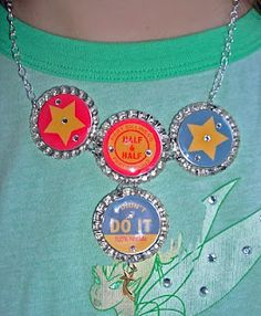 The Craft Junkie: Bottle Cap Necklace