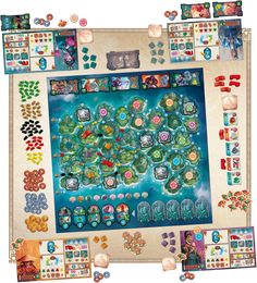 Yamataï – a board game by Bruno Cathala and Marc Paquien, published by Days of Wonder