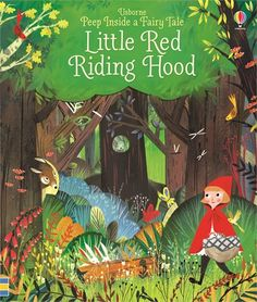 Traditional book- The story of a young girl who runs into a wolf on her way to see her grandmother