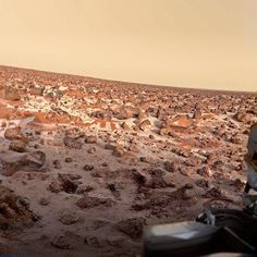 Frost at the Viking 2 landing site (super-resolution) #mars #planet #space #astronomy #science