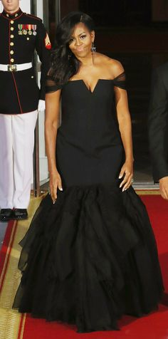 Michelle Obama's Best Looks Ever - 2015 - VERA WANG  - from InStyle.com