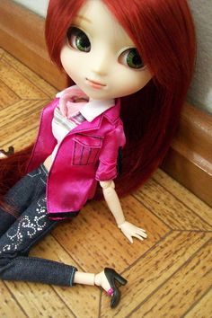 a cute little pullip doll