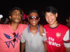 "Sanjiv Thiakarajah: "" The only time I put on my shades when its night, is when I'm ready to have fun"""