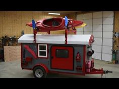 See Inside This Unique Chuckwagon Glamper Trailer Used Camping Trailers, Camping Trailer For Sale, Diy Camper Trailer, Trailer Tent, Tiny Camper, Small Campers, Micro Campers, Bus Camper, Camping In Texas