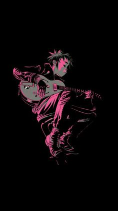 Here is a place where I will post all of the official Gorillaz art. I claim none of this art and it is all created by Jamie Hewlett. I will NOT be posting any fan art (including edits). Damon Albarn, Jamie Hewlett, Gorillaz 2 D, Rock Poster, Image Manga, Band Posters, Art Design, Arctic Monkeys, Pop Art