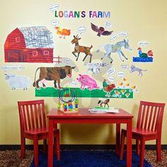 Eric Carle's Farm - Farm Peel & Place | Oopsy daisy