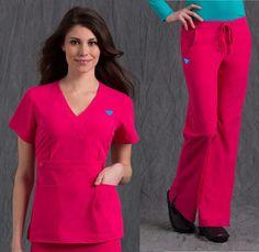 Resultado de imagen para uniforme de medico Scrubs, Jumpsuit, Short Sleeve Dresses, Nursing Uniforms, Rid, Color, Style, Fashion, Nursing
