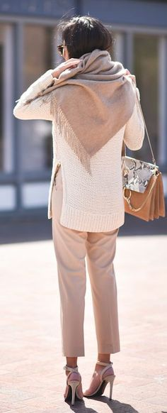 Shades Of Beige Chic Style                                                                             Source
