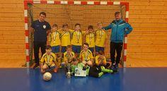 FK POHRONIE Žiar nad Hronom - 2016 / 2017 - U10 - 2. miesto na halovom turnaji v Košiciach