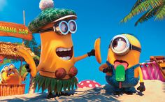 Despicable Pictures | DES-LICKABLE ME? The lovable Minions enjoy a treat in this animated ...