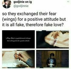 BTS Fake Love Theory