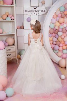 Marfil vestido cumpleaños boda fiesta por KingdomBoutiqueUA