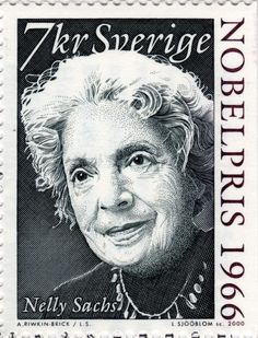 Stamp: Nelly Sachs, Nobel Laureate for Literature (Sweden) (Nobel Prize Winners Mi:SE 2129 Nobel Prize Winners, Book Writer, Animals Images, Stamp Collecting, Postage Stamps, Famous People, Literature, Black And Grey, The Incredibles