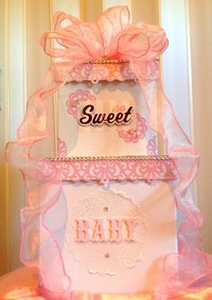 Money Box, Card Holder, Giftcard Holder Baby Shower, Really Pretty