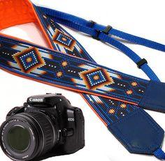 Native American Camera strap inspired by.  Southwestern by InTePro