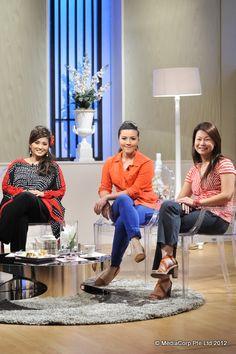 Chef Siti Mastura Alwi, Chef Malaque Mahdaly & guest