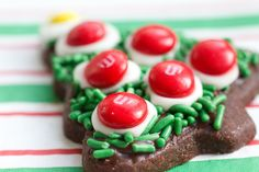 Chocolate Butter Christmas Cookies